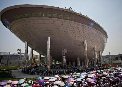 THE SAUDI ARABIA PAVILION EXPO 2010
