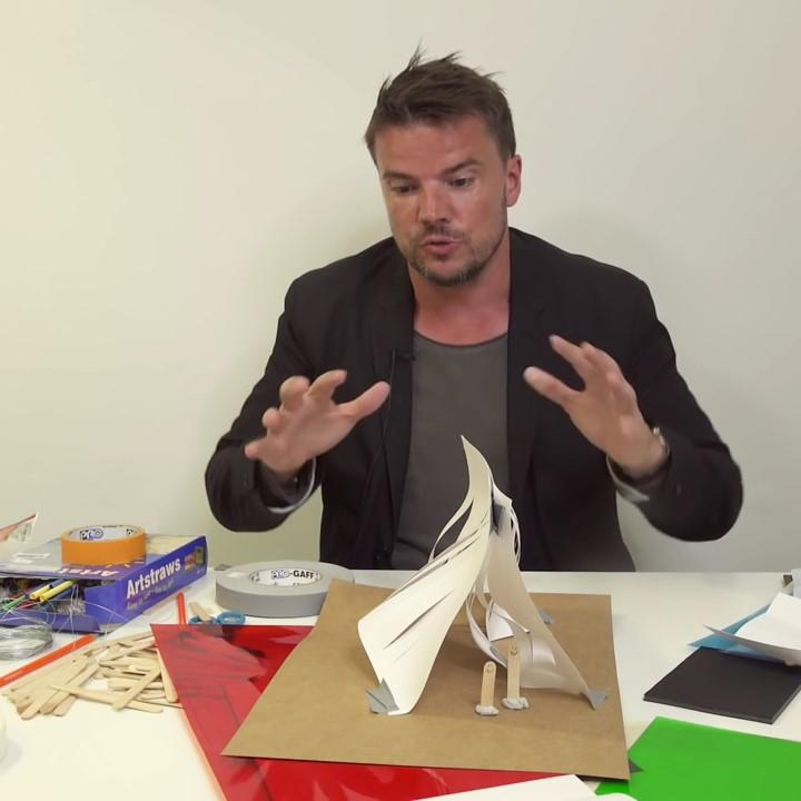 Big- Bjarke Ingels takes the Build Your Own Pavilion Challenge