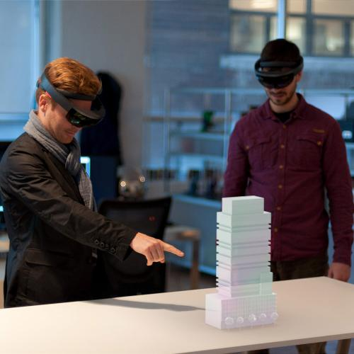 Future of Architecture with Hololens