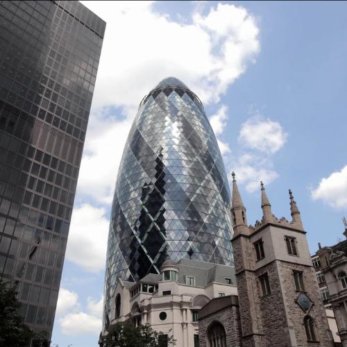 The Gherkin - Sustainable Building Design (UCL IEDE_VEIV)