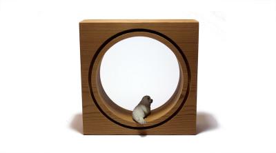 قاب حیوانات مینیاتوری کوچک --- طرح فک دریایی
