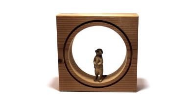 قاب حیوانات مینیاتوری کوچک --- طرح راسو