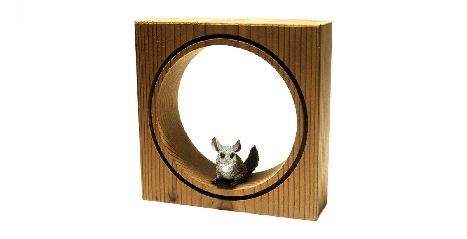 قاب حیوانات مینیاتوری کوچک --- طرح موش