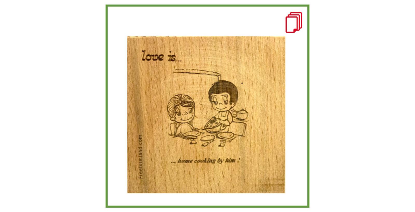 free text No.3 --- چوب نبشته Love is