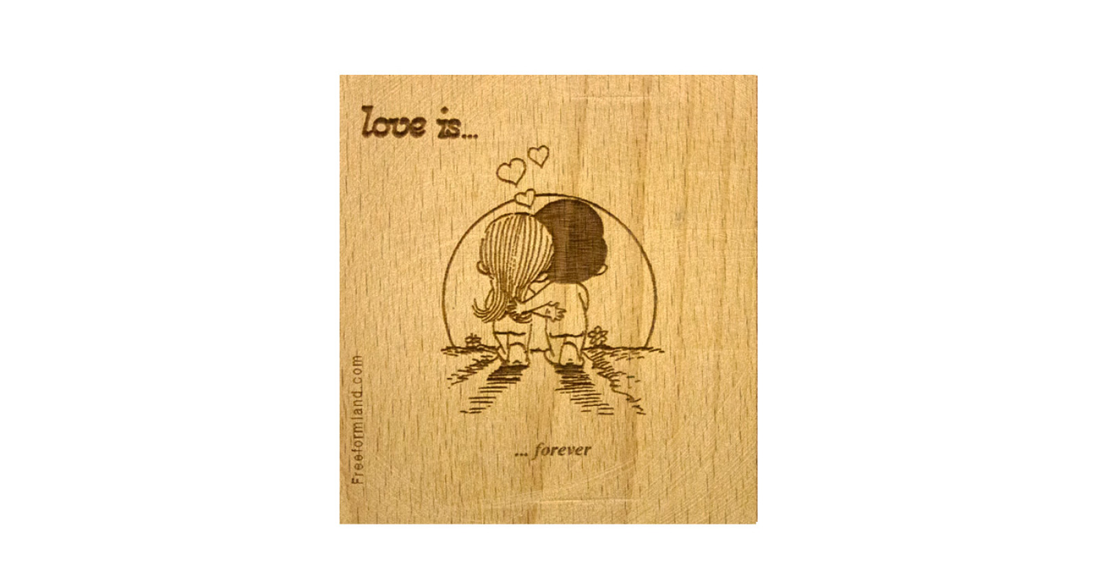 طرح 13 --- love is چوب نبشته