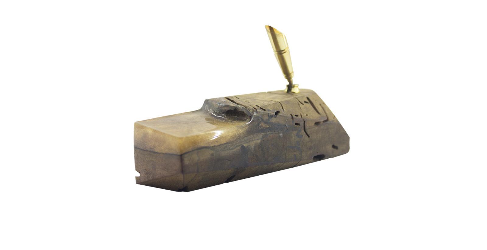 Free pen No.11 --- جاقلمی _ ترکیب چوب و رزین