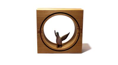 قاب حیوانات مینیاتوری کوچک --- طرح مرغابی