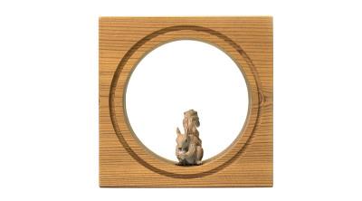 قاب حیوانات مینیاتوری کوچک --- طرح سنجاب